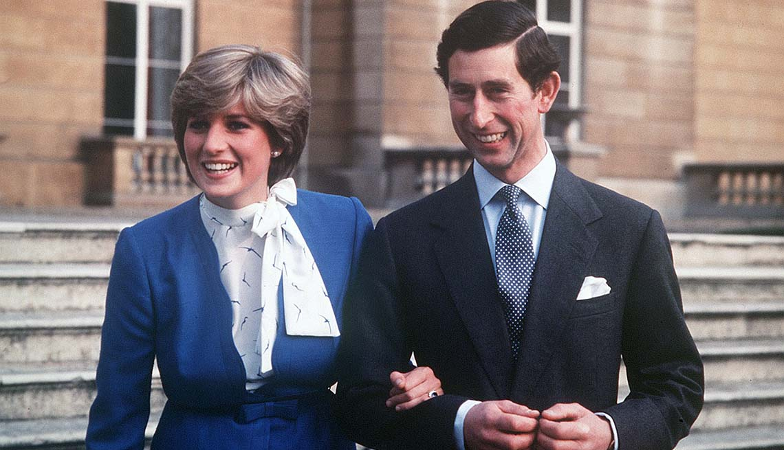 Engagement of Prince Charles and Lady Diana Spencer