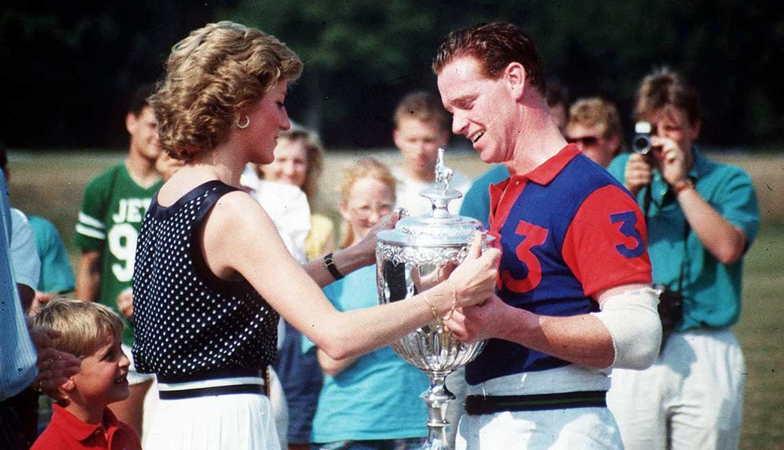 Princess Diana and James Hewitt