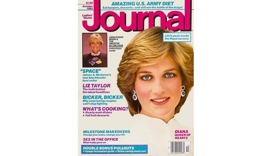 Lady Diana en la portada de la revista Journal