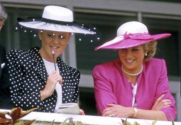 Sarah Ferguson y Lady Diana