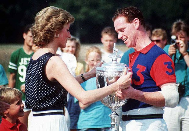 Princess Diana y James Hewitt