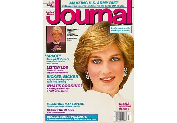 Lady Diana en la portada de Journal