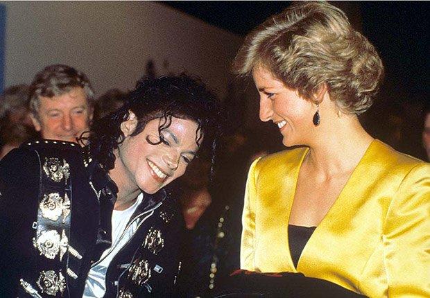 Michael Jackson y Lady Diana