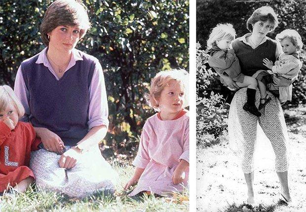 Lady Diana Spencer y unos niños