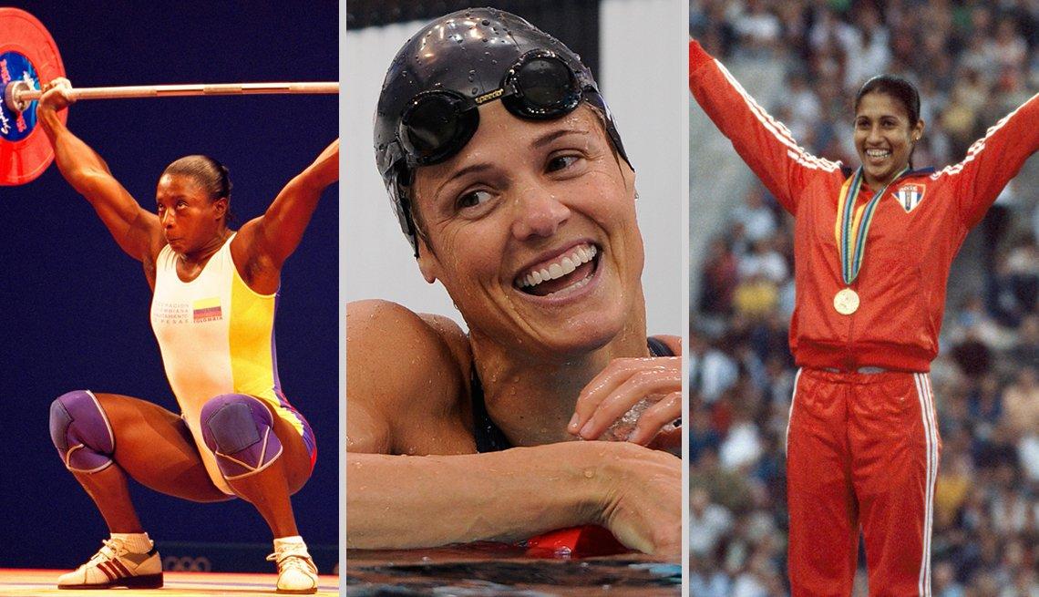 Pioneros olímpicos hispanos