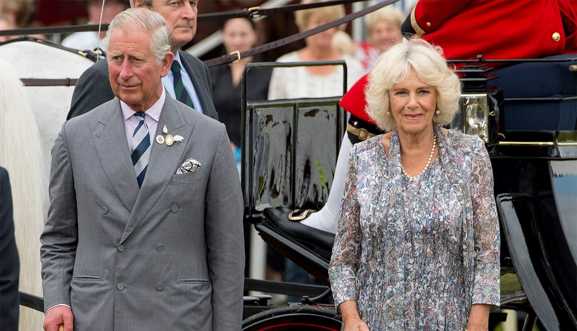 item 12 of Gallery image - Camilla, Duchess of Cornwall and Prince Charles, Prince of Wales