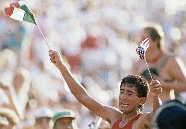 Ernesto Canto: Marcha atlética  - Pioneros olímpicos hispanos