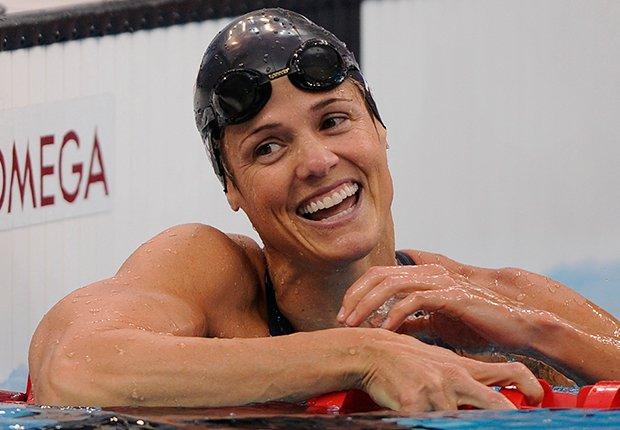 Dara Torres: Natación - Pioneros olímpicos hispanos