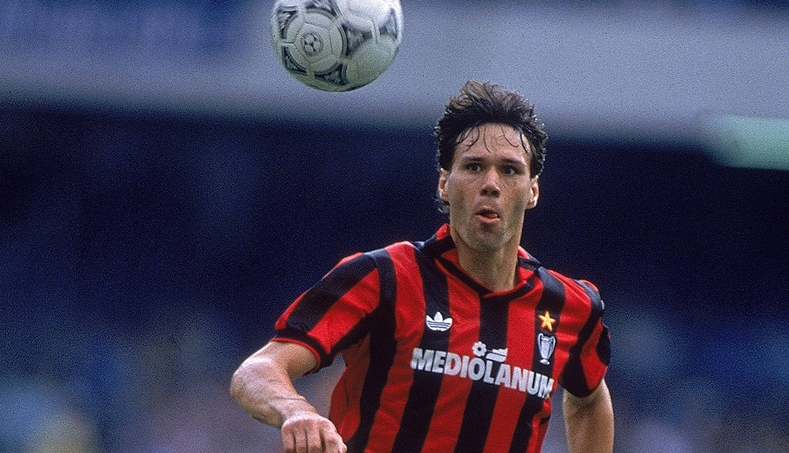 Marco Van Basten - Los mejores delanteros de la historia del fútbol