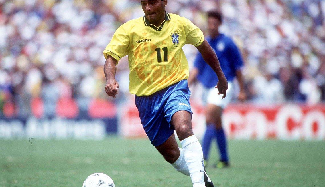 Romário - Los mejores delanteros de la historia del fútbol