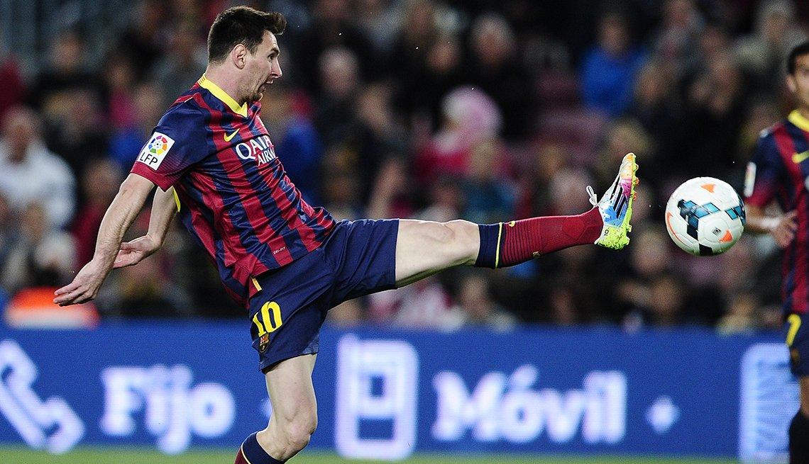 Lionel Messi - Los mejores delanteros de la historia del fútbol