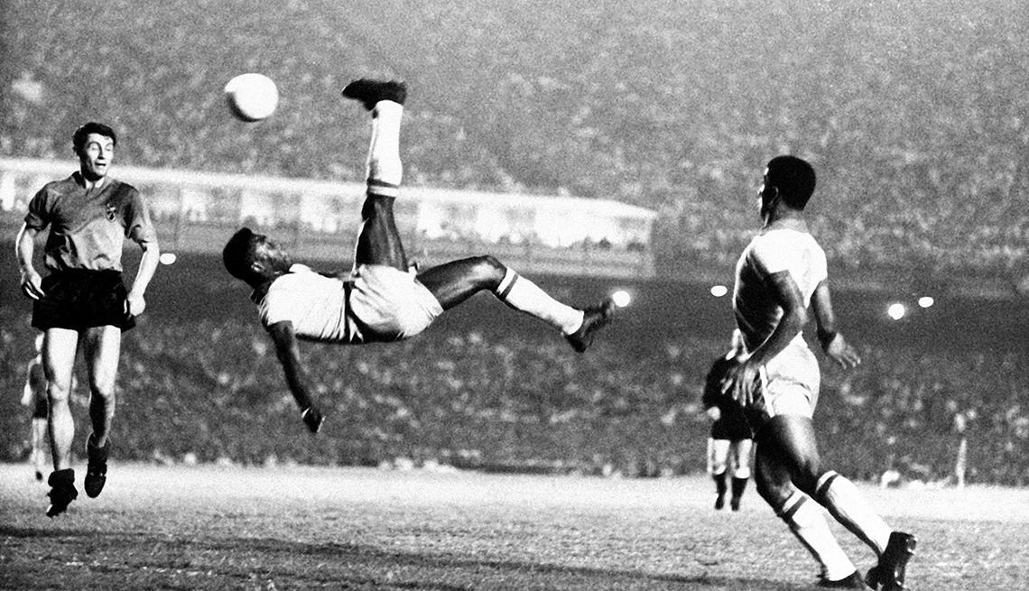 Pelé - Los mejores delanteros de la historia del fútbol