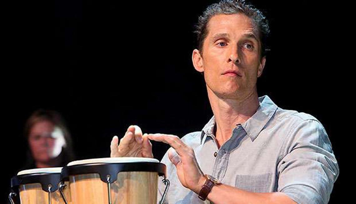 Actores convierten en realidad sus sueños musicales - Matthew McConaughey
