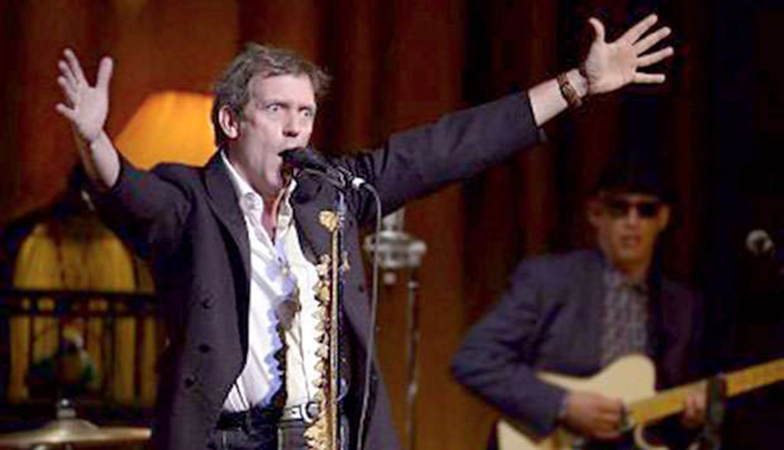 Actores convierten en realidad sus sueños musicales - Hugh Laurie
