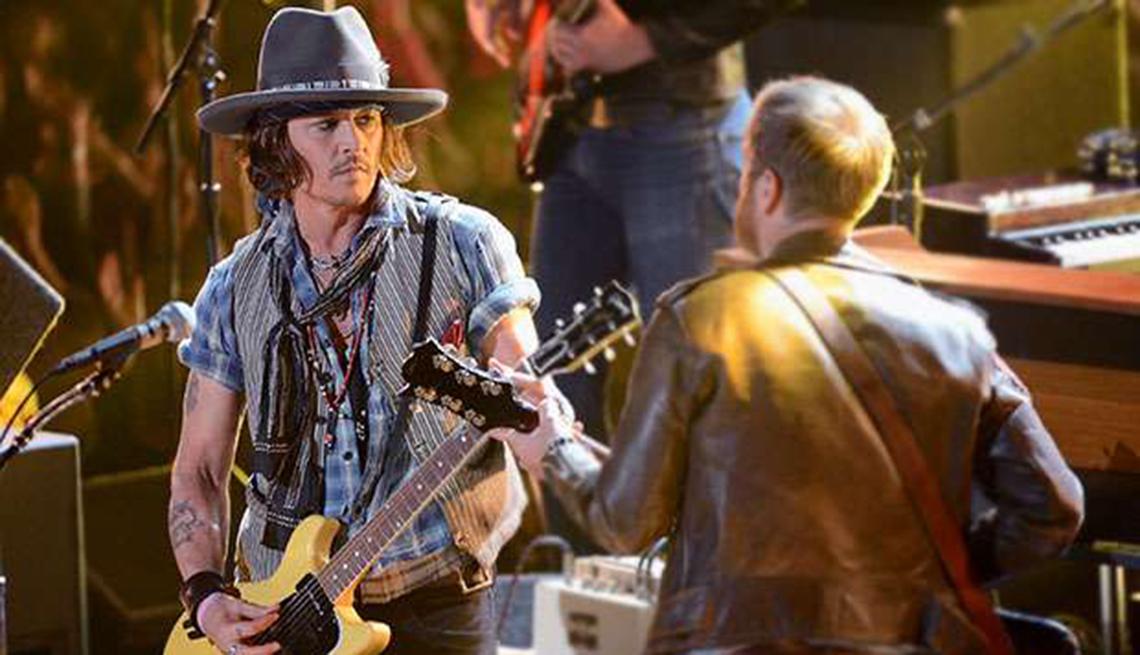 Actores convierten en realidad sus sueños musicales - Johnny Depp