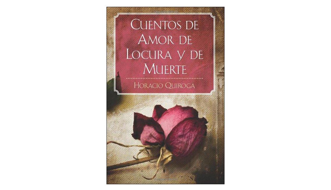 Libros en español para Halloween - Portada de Cuentos de amor de locura y de muerte de Horacio Quiroga