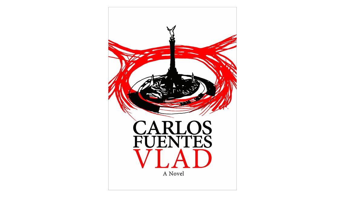 Libros en español para Halloween - Portada de Vlad de Carlos Fuentes