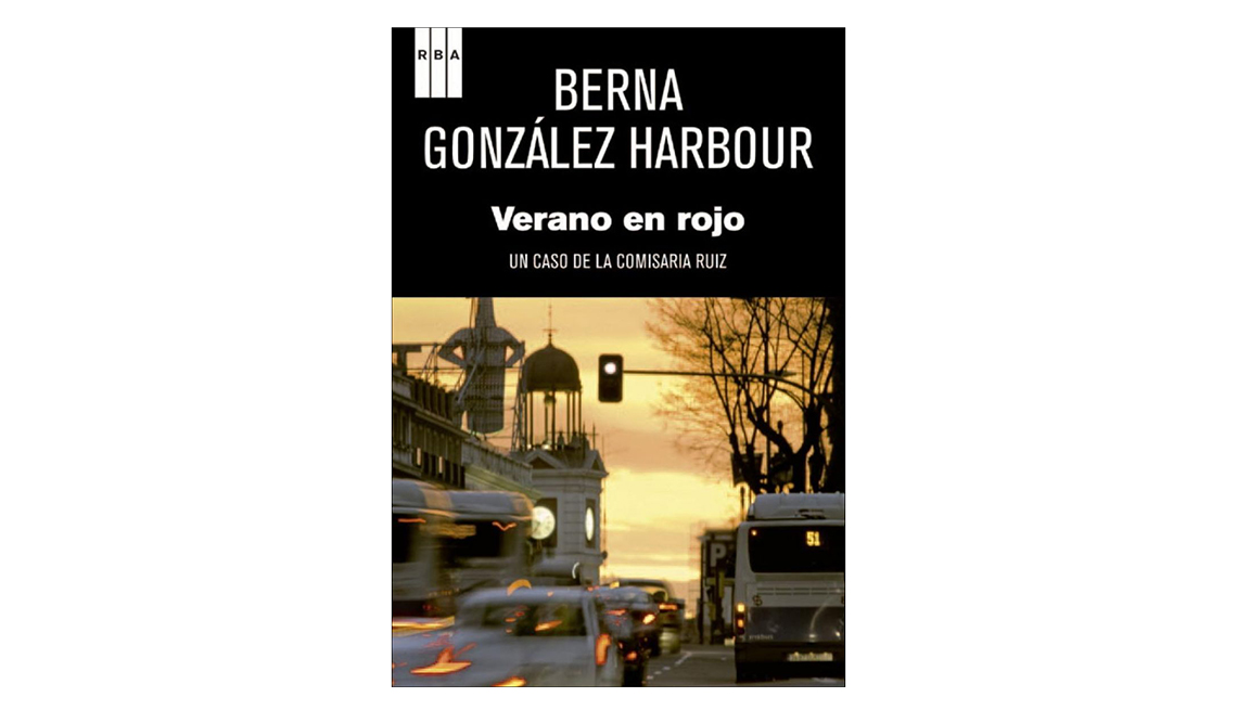 Libros en español para Halloween - Portada de Verano en rojo de Berna González Harbour
