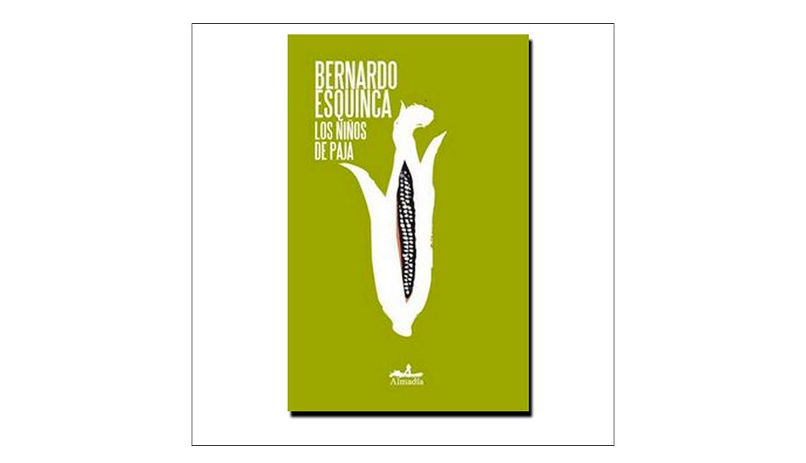Libros en español para Halloween - Portada de Los niños de paja de Bernardo Esquinca