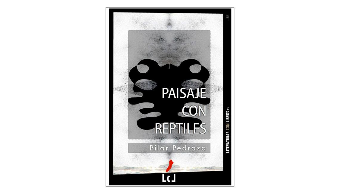 Libros en español para Halloween - Portada de Paisaje con reptiles de  Pilar Pedraza