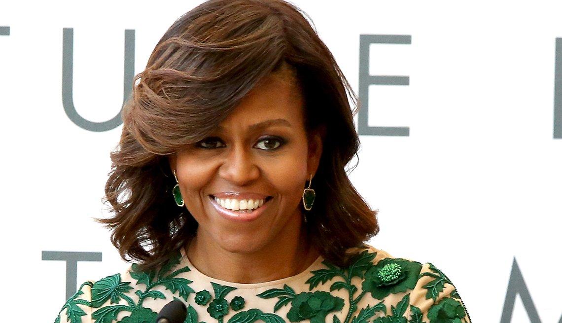 Michelle Obama, 51 - Bellos con más de 50 años de edad