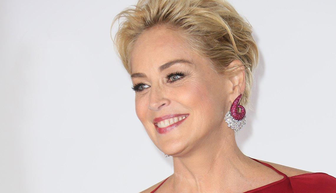 Sharon Stone, 57 años- Bellos con más de 50 años