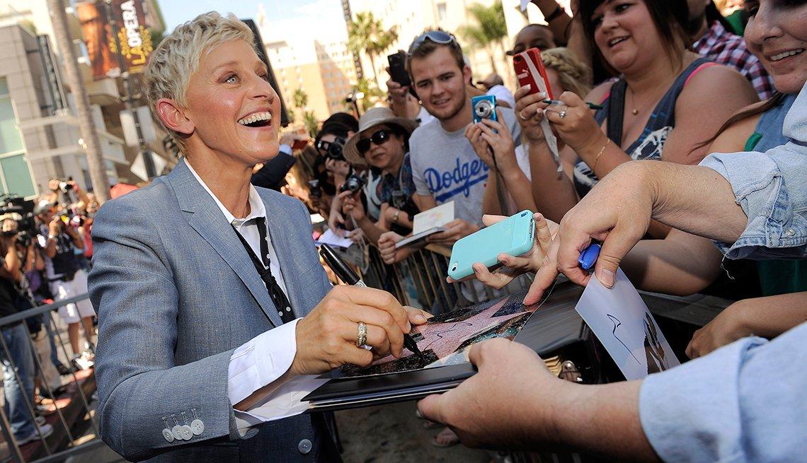 Ellen DeGeneres, 57 años - Bellos con más de 50 años