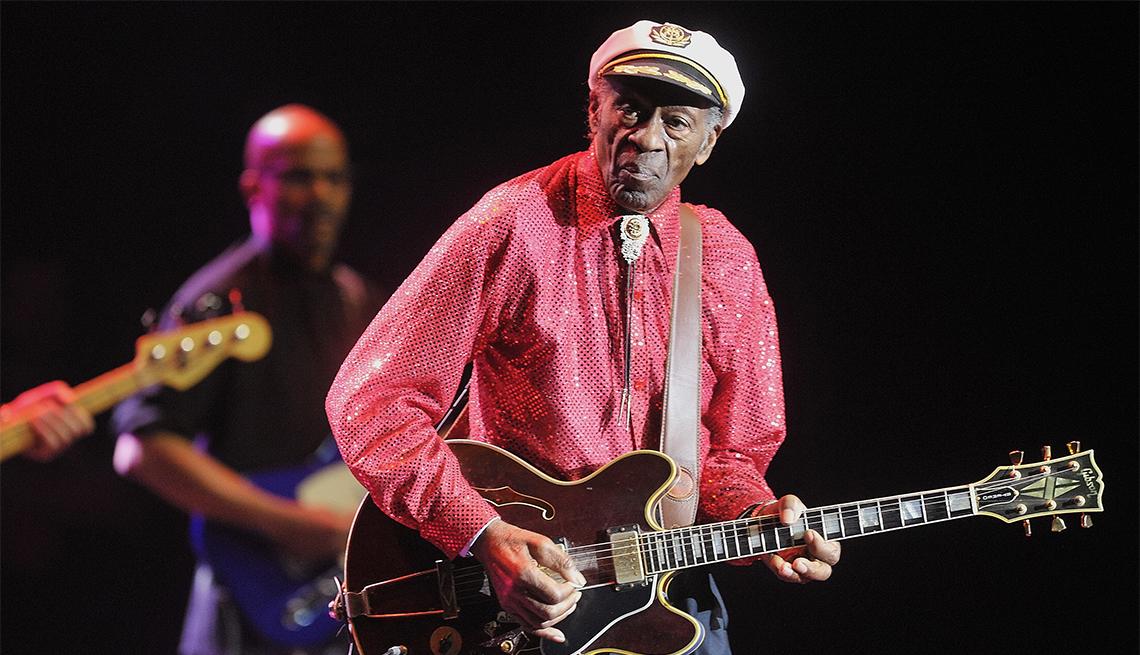 Chuck Berry, 90