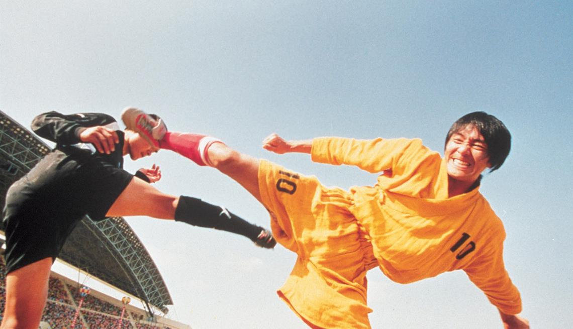 Escena de la película Shaolin Master