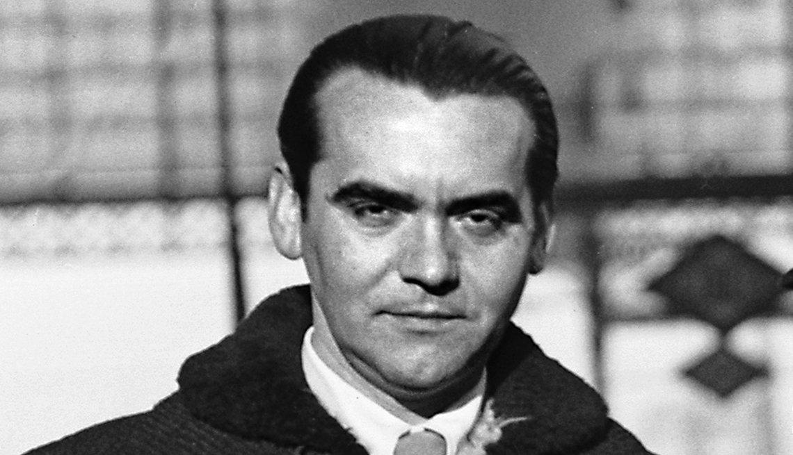 Retrato del poeta Federico García Lorca en Madrid, 1934