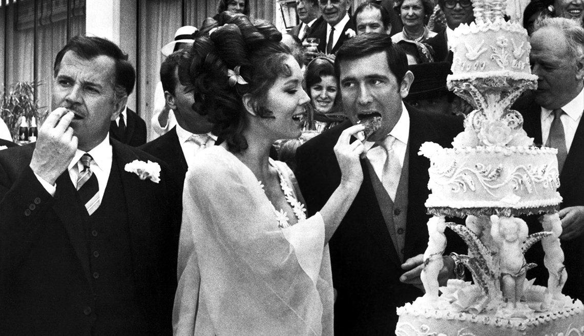 James Bond, el espía que nos ha entretenido por 50 años - George Lazenby y Diana Rigg, 'On Her Majesty's Secret Service', 1969