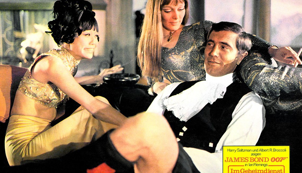 James Bond, el espía que nos ha entretenido por 50 años - George Lazenby, 'On Her Majesty's Secret Service, 1969