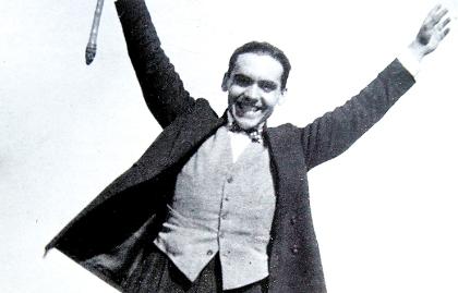 Foto del dramaturgo español Federico García Lorca
