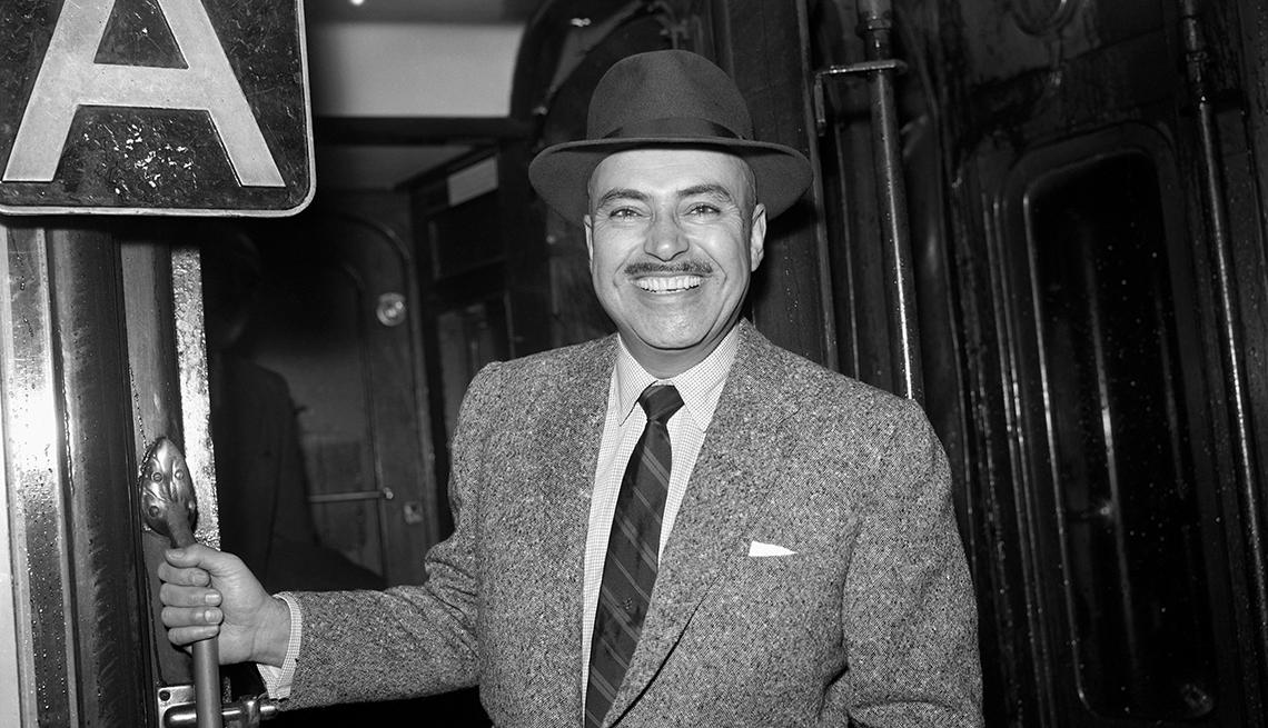 Pedro Armendáriz un actor que dejó huella en México y Hollywood - Imagen en la estación Waterloo, Londres