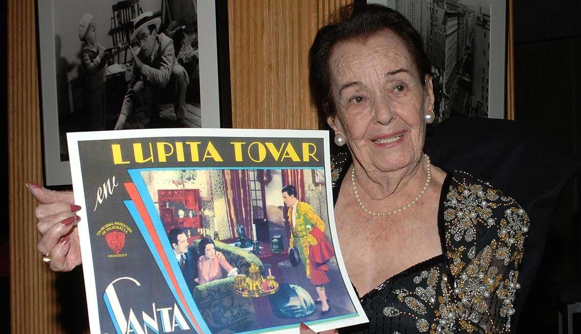 Famosos que nos dejaron en el 2016 - Lupita Tovar, actriz, 106