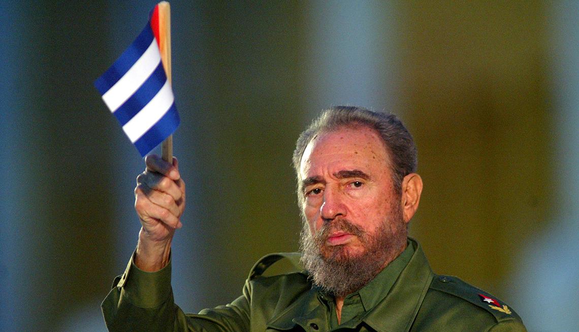Famosos que nos dejaron en el 2016 - Fidel Castro, político, 90