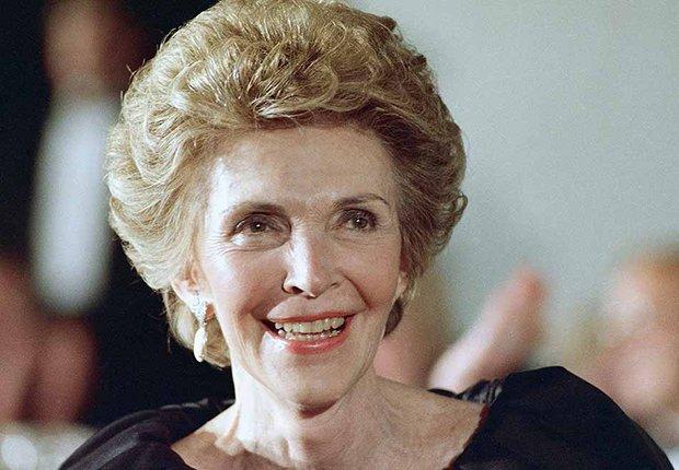 Famosos que nos dejaron en el 2016 - Nancy Reagan, ex primera dama, 94