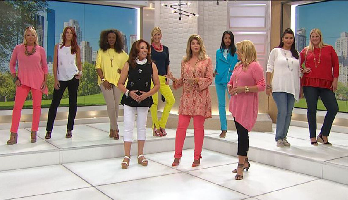 Diane Gilman on the Home Shopping Network
