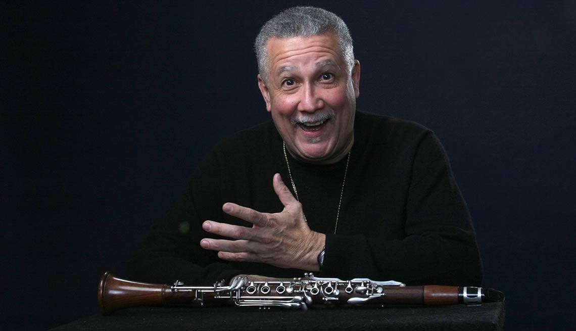 Retrato de Paquito D'Rivera