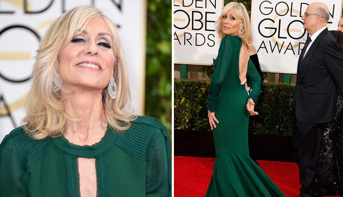 Judith Light at the Golden Globes in 2015