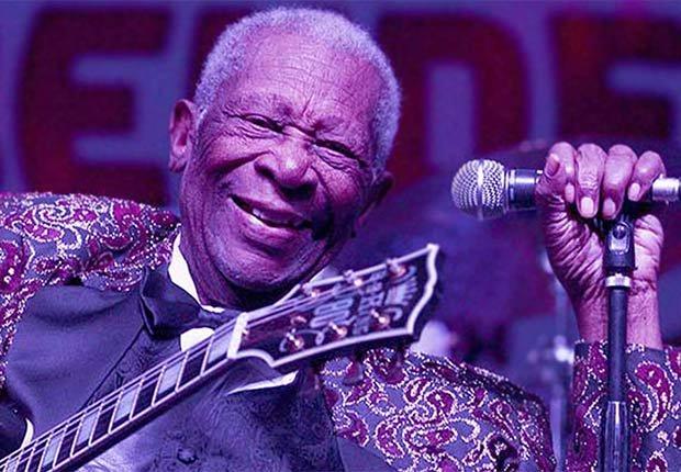 B.B. King, 89, músico - Famosos que nos dejaron en el 2015