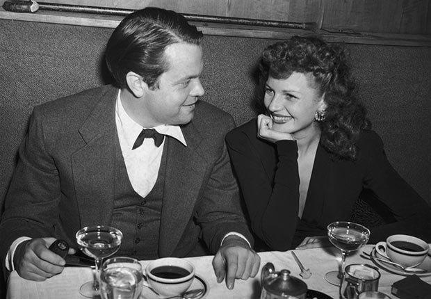 Orson Welles y Rita Hayworth -  La vida de la artista en el cine