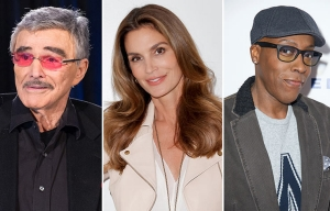 February 2016 Milestone Birthdays, Burt Reynolds, Cindy Crawford, Arsenio Hall
