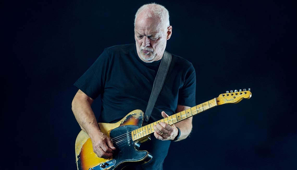 March 2016 Milestone Birthdays, David Gilmour