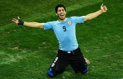 Copa América 2016, Luis Suárez, Uruguay