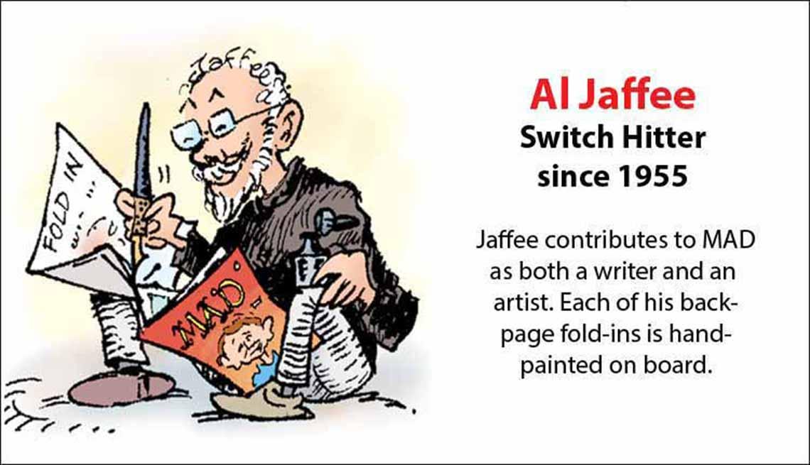 The Original Mad Men, Al Jaffee