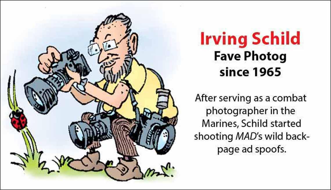 The Original Mad Men, Irving Schild