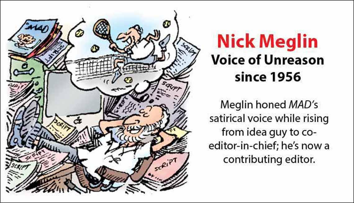 The Original Mad Men, Nick Meglin