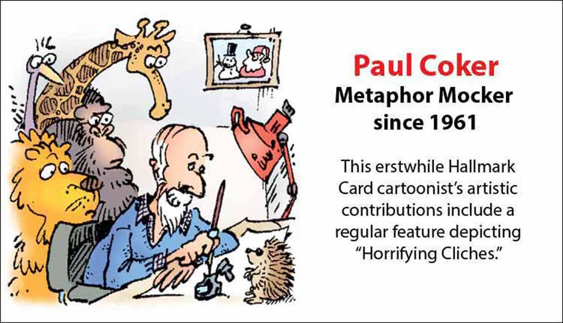 The Original Mad Men, Paul Coker