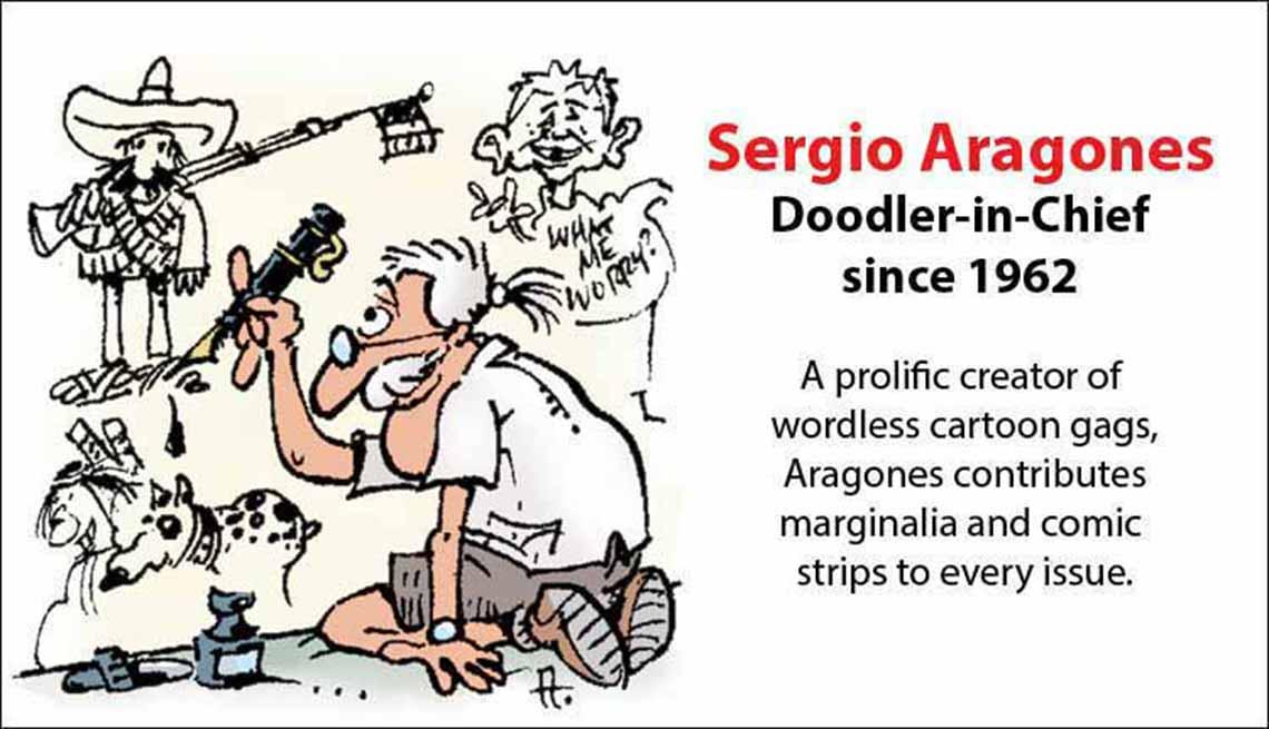 The Original Mad Men, Sergio Aragones